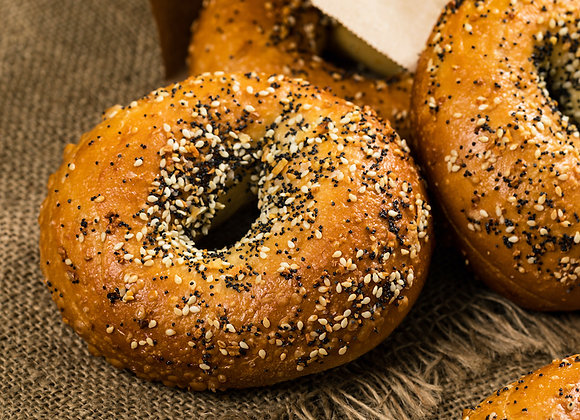 Everything Bagels (4 pack)