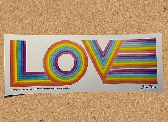 LOVE Poster (Medium)