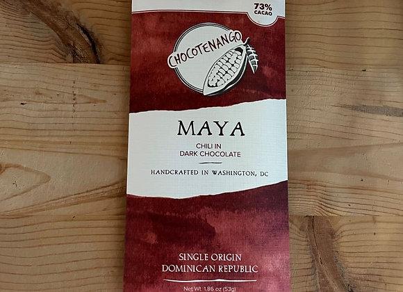 Chocotenango Dark Chocolate Bar with Chili