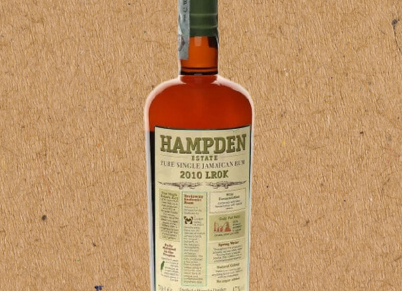 Hampden Estate 2010 LROK / 11 Year Barrel Aged Jamaican Rum (DC ONLY)