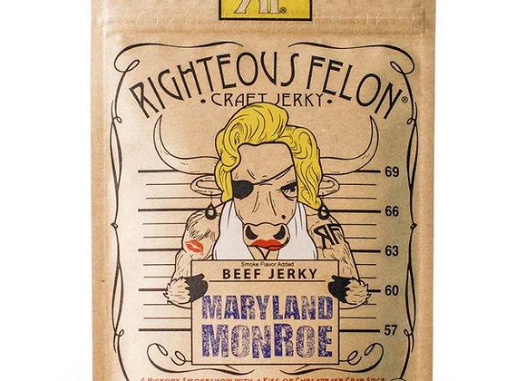 Righteous Felon Maryland Monroe Beef Jerky (2 oz)