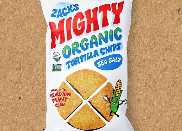 Zack's Mighty Organic Tortilla Chips (9 oz Bag)