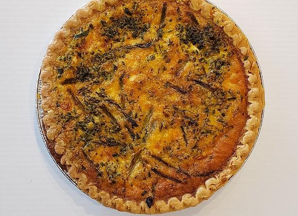 Whole Asparagus Quiche (serves 6-8)