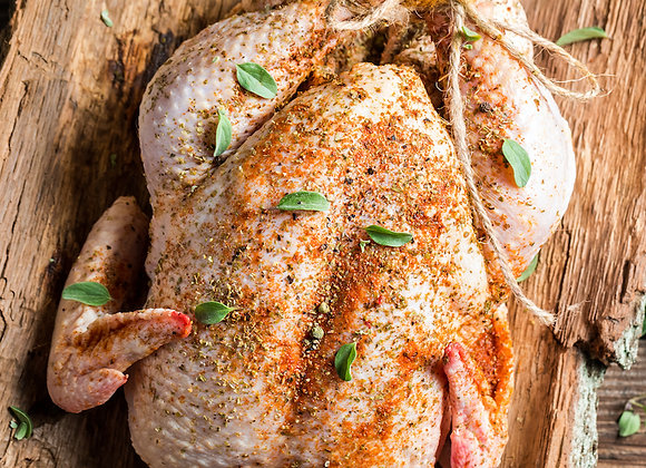 Red Apron Raw Turkey