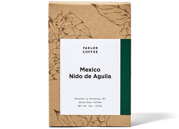 Parlor Coffee: Mexico Nido de Aguila (8oz)