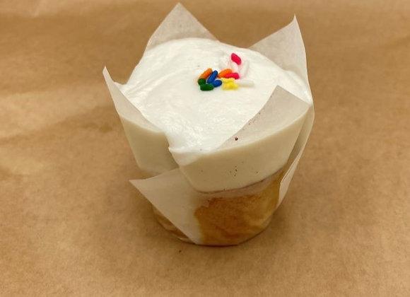 Vanilla Vanilla Gluten-Free Dairy-Free Cupcake (each)