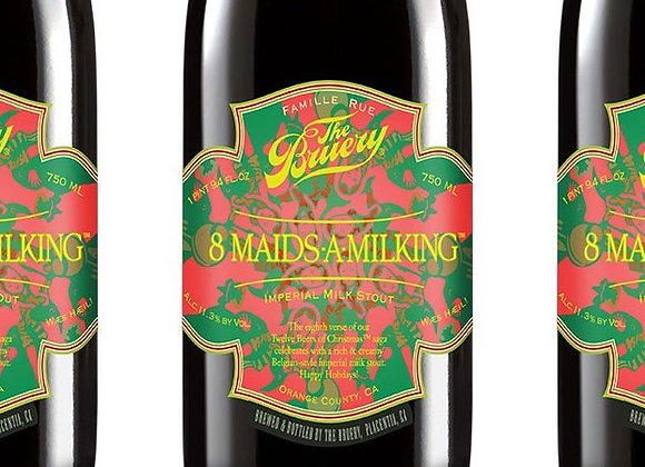 The Bruery 8-Maids-a-Milking 2015 (Imperial Sweet Stout - Single x 25.4 oz.)
