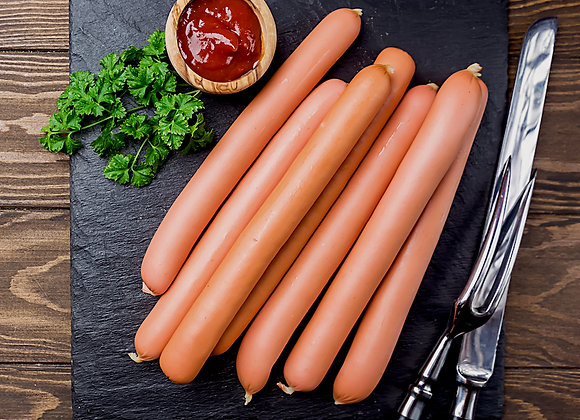 All-Beef Hot Dogs (six pack)