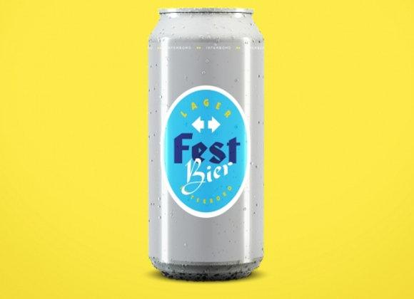 Interboro Fest Bier (Festbier/ Wiesnbier - 4 pack x 16 oz.)