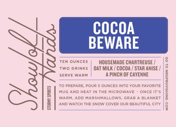 Cocoa Beware (serves 2)