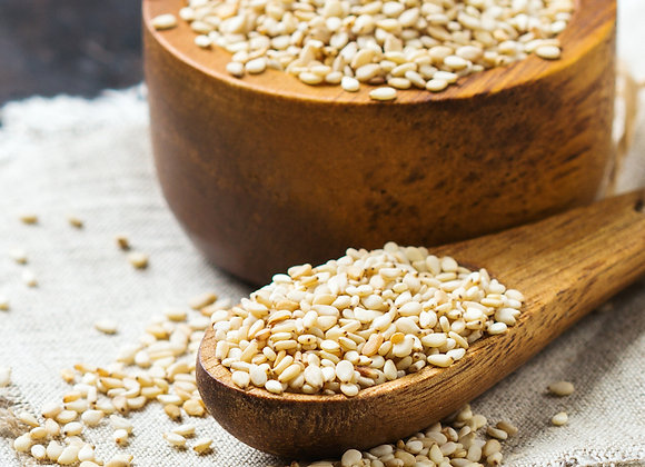 White Sesame Seeds (4oz)