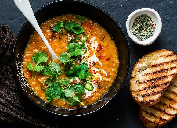 Curried Lentil Soup (quart)