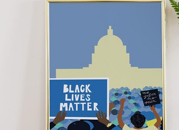 Black Lives Matter DC Print