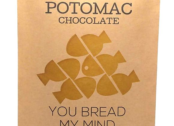 Potomac Chocolate, You Bread My Mind (2.12 oz.)