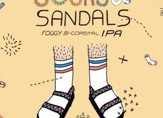 Humble Sea Socks & Sandals (American IPA - 4 pack x 16 oz.)