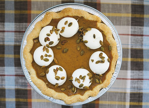 Whole Pumpkin Pie (Thanksgiving)