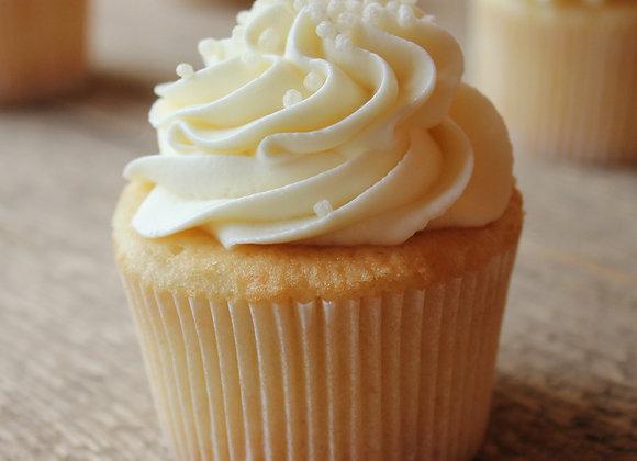 Vanilla Vanilla Gluten-Free Cupcake (each)