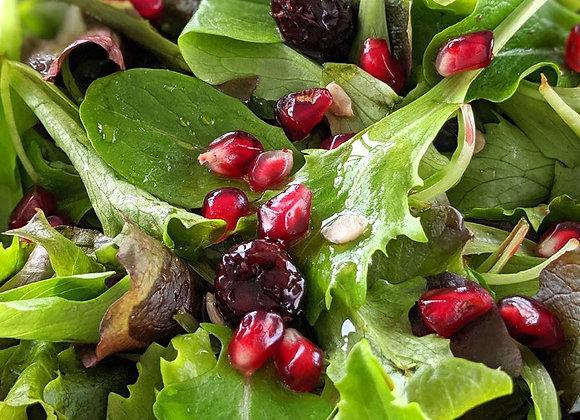 Fall Mixed Greens Salad