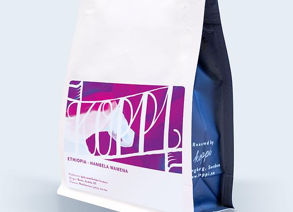 Koppi Ethiopia Hambela Wamena - Whole Coffee Beans (250 g