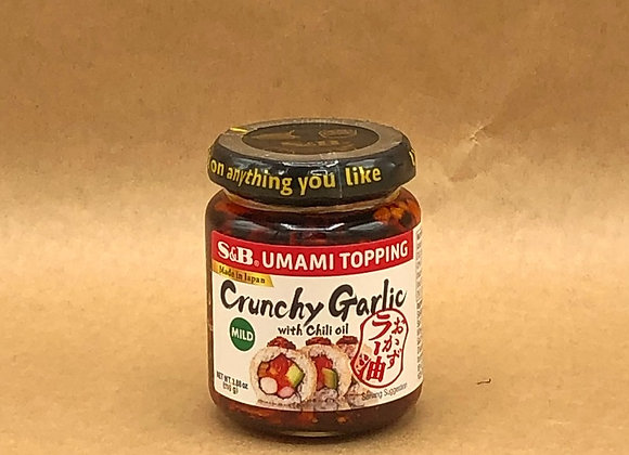 Crunchy Garlic with Chili Oil (3.9 oz)