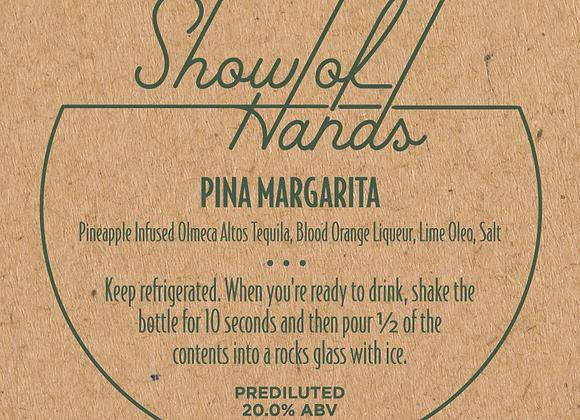 Pina Margarita - 10 oz Bottle (Serves 2) (MD)