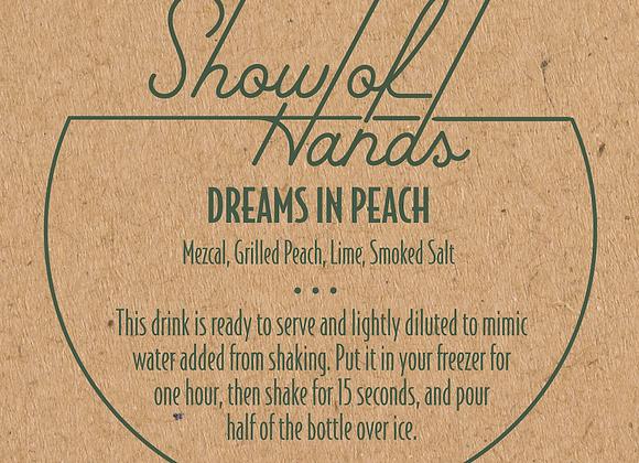 Dreams in Peach (serves 2)