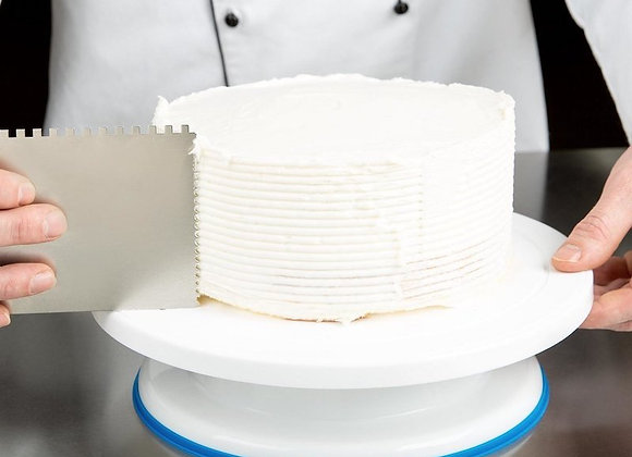 Revolving Plastic Cake Stand with Non-Slip Base