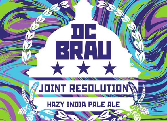 DC Brau Joint Resolution (Hazy IPA - 6 Pack x 12 oz.)