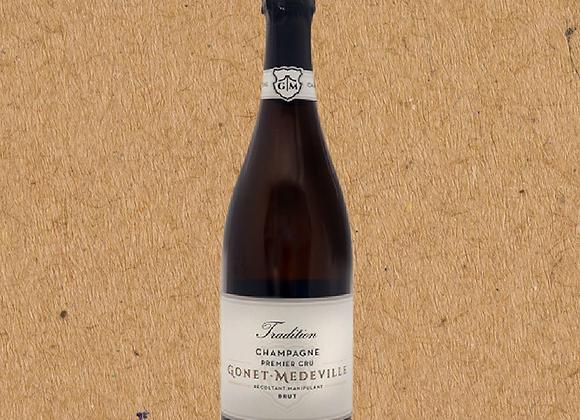 Gonet-Medeville, Tradition Champagne 1er Cru, Brut, Champagne
