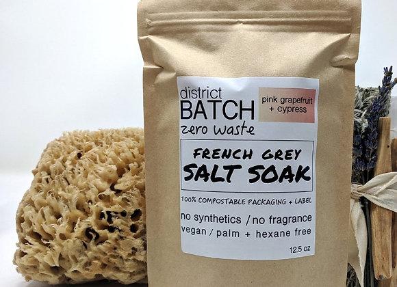District Batch Salt Soaks