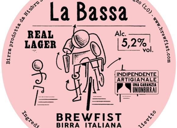 BrewFist La Bassa (Helles Lager - Single x 12 oz.)