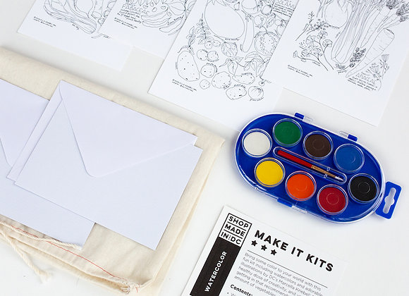 Make It! - Watercolor Kit / Shop Made in DC