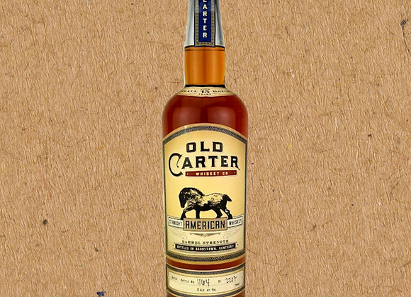 Old Carter American Whiskey & Bourbon (DC ONLY)
