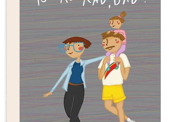 You're Rad, Dad Card