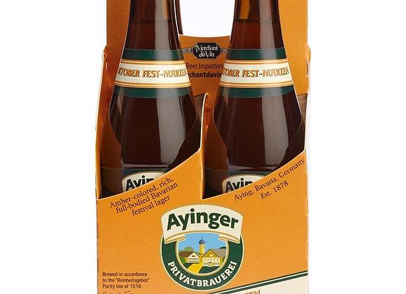 Ayinger Oktoberfest (Märzen/ Oktoberfest - 4 pack x 11.2 oz.)