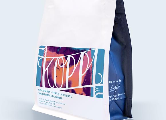 """Koppi Finca La Fuente """"Variedad Colombia"""" - Whole Coffee Beans (250 g)"""