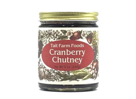 Tait Farm Cranberry Chutney (9 oz.)