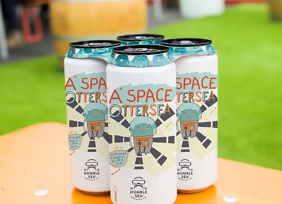 Humble Sea A Space Ottersea (Hazy Double IPA - 4 pack x 16 oz.)