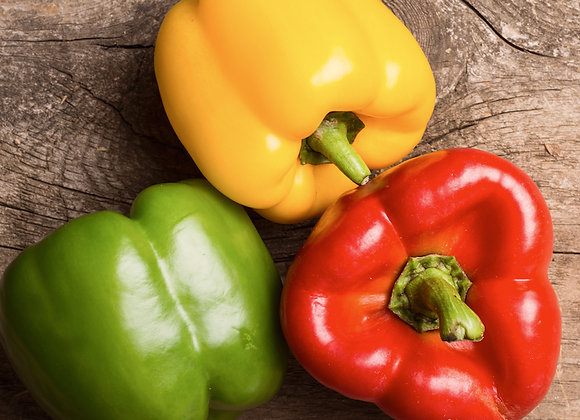 Mixed Peppers (3 pack) green/yellow/red