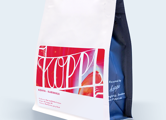 Kenya Karimikui - Whole Coffee Beans (250 g)