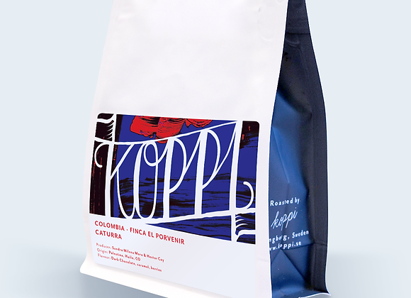 "Koppi Colombia Finca El Porvenir ""Caturra"" - Whole Coffee Beans (250 g)"