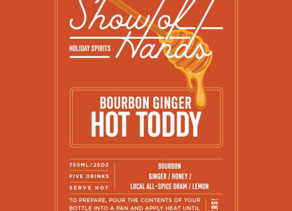 Bourbon Ginger Hot Toddy (serves 5)