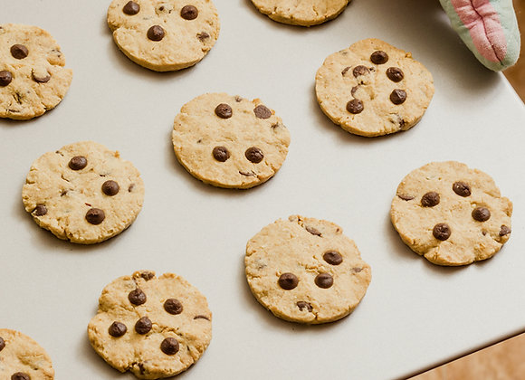 Chocolate Chip Slice & Bake Cookies