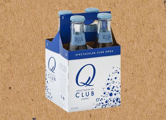 Q Club Soda 4pk