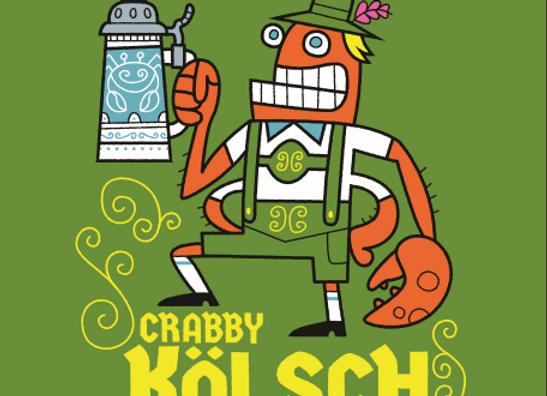 Crooked Crab Crabby Kölsch (Kölsch - 4 pack x 16 oz.) (MD)