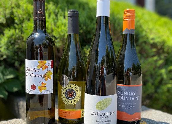White Hot Value Wine Pack - 4 x 750 ml Bottles