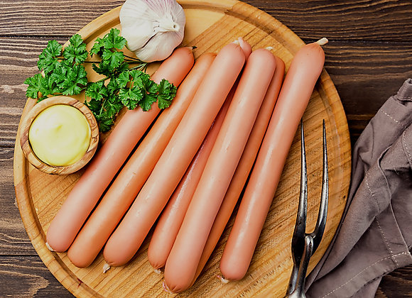 Haute Dog (Pork Hot Dog) (six pack)