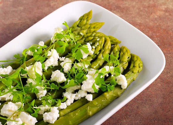 Grilled Asparagus with Feta - PRE ORDER