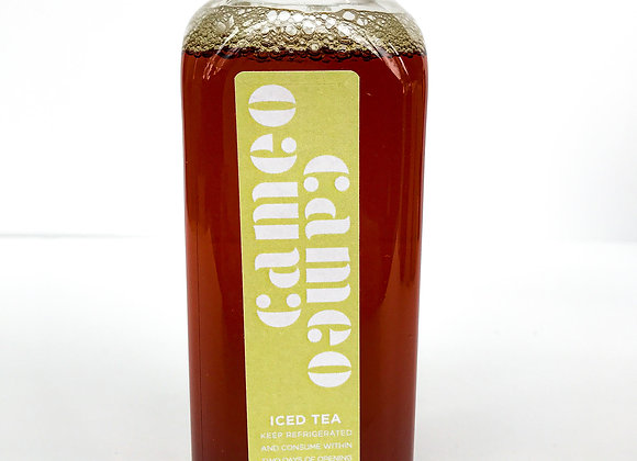 Cameo's Black Iced Tea: Ready to Drink (12oz)