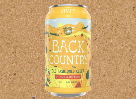 Graft Back Country (Dry Cider - 4 pack x 12 oz.)